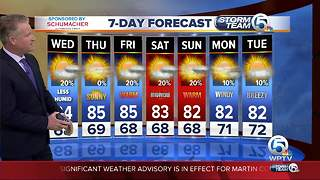 Latest Weather Forecast 5 p.m. Tuesday - Video