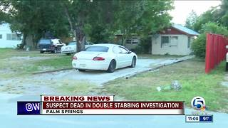 Home invader fatally stabbed in Palm Springs - Video