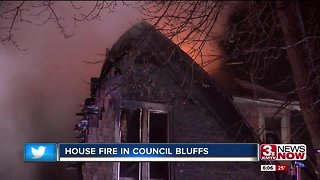 Family gets out safe after house fire