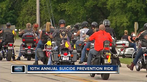 Riding to prevent suicide