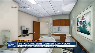 Children's Hospital of Wisconsin expanding Fetal Care Clinic - Video