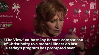 ABC Pays the Price After Joy Behar Attacks Christianity - Video