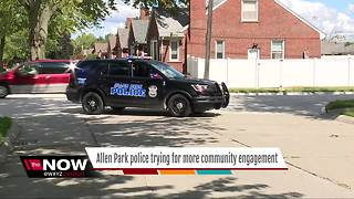 Allen Park police trying for more community engagement - Video