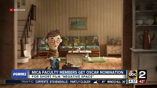 MICA faculty members get Oscar nomination for short film - Video