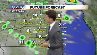 Josh Wurster's Saturday Forecast - Video
