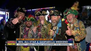 NHL All-Star and Gasparilla Weekend - Video