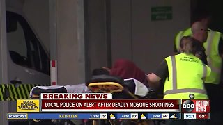 Tampa Bay Area law enforcement on alert after New Zealand mosque terrorist attack