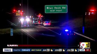 All lanes of Ronald Reagan closed by crash - Video