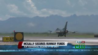 McSally adds runway improvement for Tucson International Airport - Video