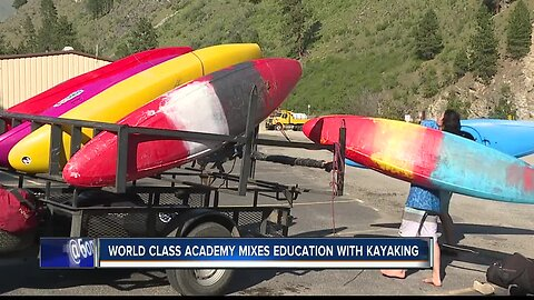 Unique school mixes education with kayaking