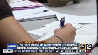 Crisis on campus: Schools struggle to meet mental health demands - Video