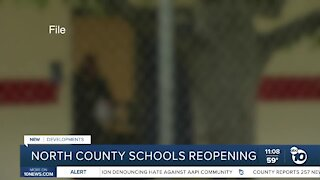 North County schools create reopening plans