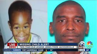 Florida missing child alert issued for 2-year-old Jacksonville boy - Video