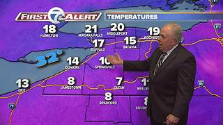 11pm Wednesday 7 First Alert Forecast - Video
