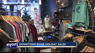 Downtown Boise holiday business