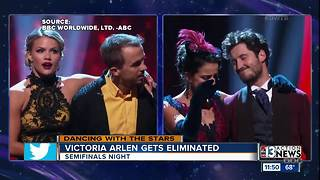 Victoria Arlen eliminated from Dancing with the Stars - Video