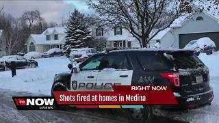 Residents fearful after two homes in Medina hit by stray bullets