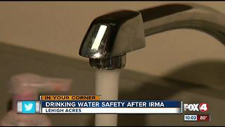 Drinking water safety after Irma - Video