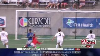 Kearney claims first Class A State Soccer Championship - Video
