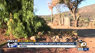 Dangerous fire weather hits San Diego County