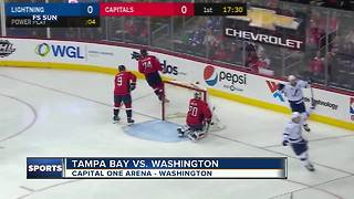 Brayden Point scores two goals to help Tampa Bay Lightning beat Washington Capitals 4-2 - Video