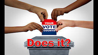 Does Your Vote Matter? Voter Fraud is a concern, no matter who you voted for.