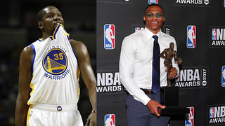 Kevin Durant Reacts to Russell Westbrook Winning MVP, Eric Kanter SNEAK DISSES KD - Video