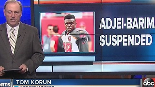 Buccaneers cornerback Jude Adjei-Barimah suspended 4 games for violating NFL substance abuse policy - Video