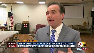 New demands for District 5 police headquarters - Video