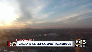 High pollution advisory extended for the Valley - Video