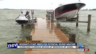 Miller's Island residents prepare for Florence
