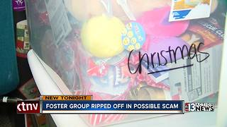 'Foster Kinship' unable to buy Christmas gifts after possible Walmart scam - Video