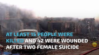 15 Killed After Two Female Suicide Bombers Attack Market In Cameroon - Video
