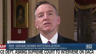 Arizona Congressman Paul Gosar under self-quarantine over coronavirus fears