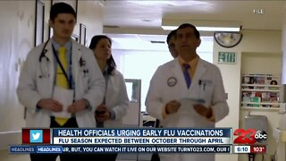 Health officials urge public to get flu vaccines early amid COVID-19 pandemic