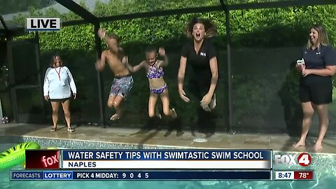 Water safety tips with Swimtastic Swim School