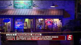 1 Injured In Shooting Inside East Nashville Restaurant - Video