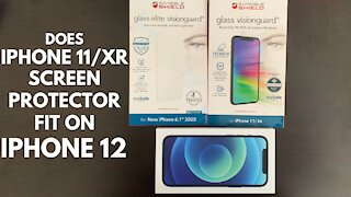 Does an iPhone 11/XR Screen Protector fit on an iPhone 12 & 12 Pro?