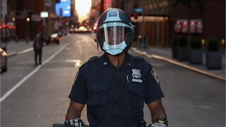New York City night of unrest, curfew extended
