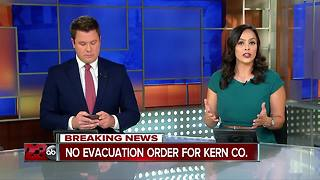 Emergency Services says there is no emergency evacuation in Kern County