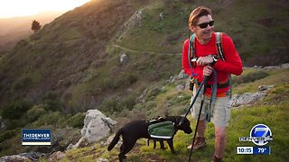 'It's never been done before': Blind hiker to summit Colorado peaks