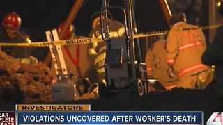 Violations uncovered after worker's death - Video