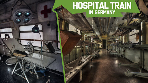 Old Hospital Train in Germany.