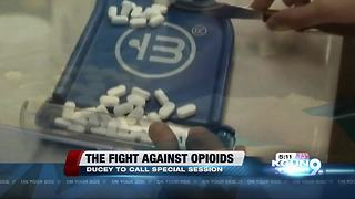 Gov. Ducey to call special session to address opioid crisis - Video