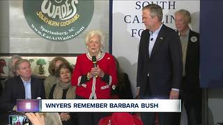WNYers remember Barbara Bush