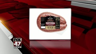 Ready-to-eat sausage products recalled due to possible metal contamination