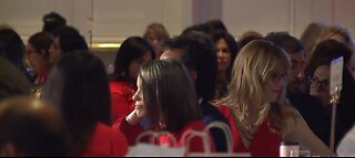 'Go Red for Women' event held at Four Seasons hotel in Las Vegas