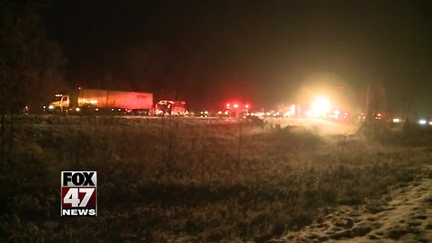 Several cars collide on I-96 at Ingham - Livingston County line