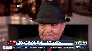 Joe Jackson dies in Las Vegas at age 89 - Video