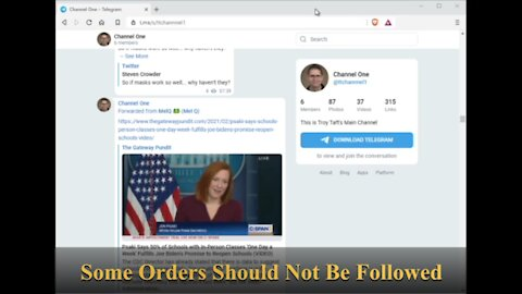 Some Orders Should Not Be Followed